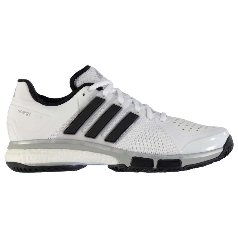 adidas Energy Boost Mens Tennis Shoes White/Black