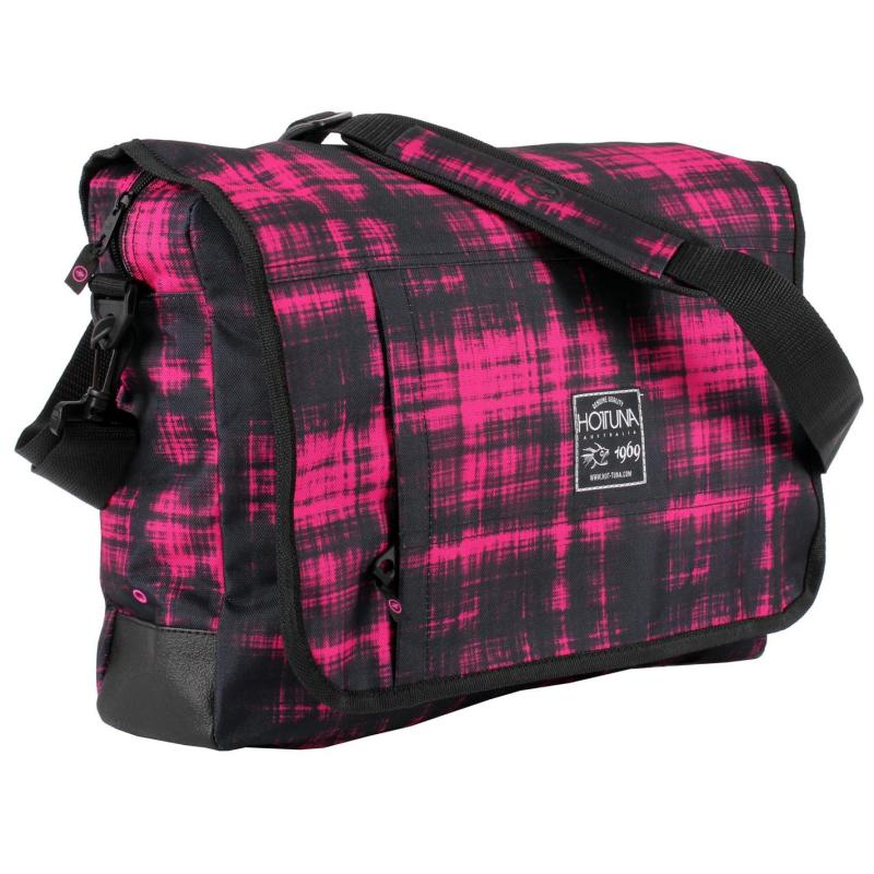 Hot Tuna Messenger Bag Pink Matrix