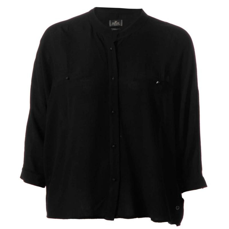 Košile Replay Shirt 890 D.Blue