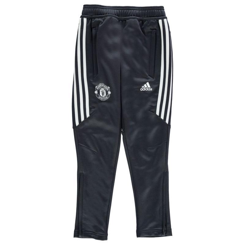 Tepláky adidas Manchester United FC Training Pants Juniors Black/White