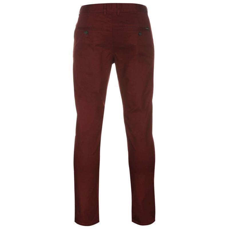 Kalhoty Pierre Cardin Slim Fit Trousers Mens Navy