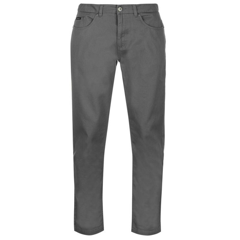 Kalhoty Pierre Cardin Twill Trousers Mens Navy