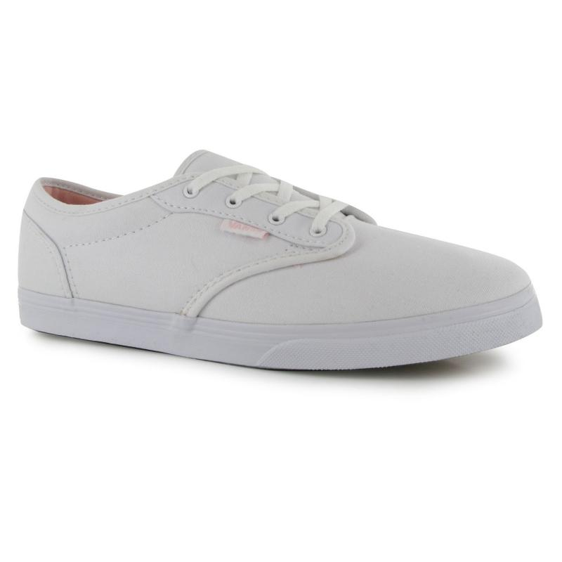 Vans Atwood Low Junior Girls Trainers White/Rose