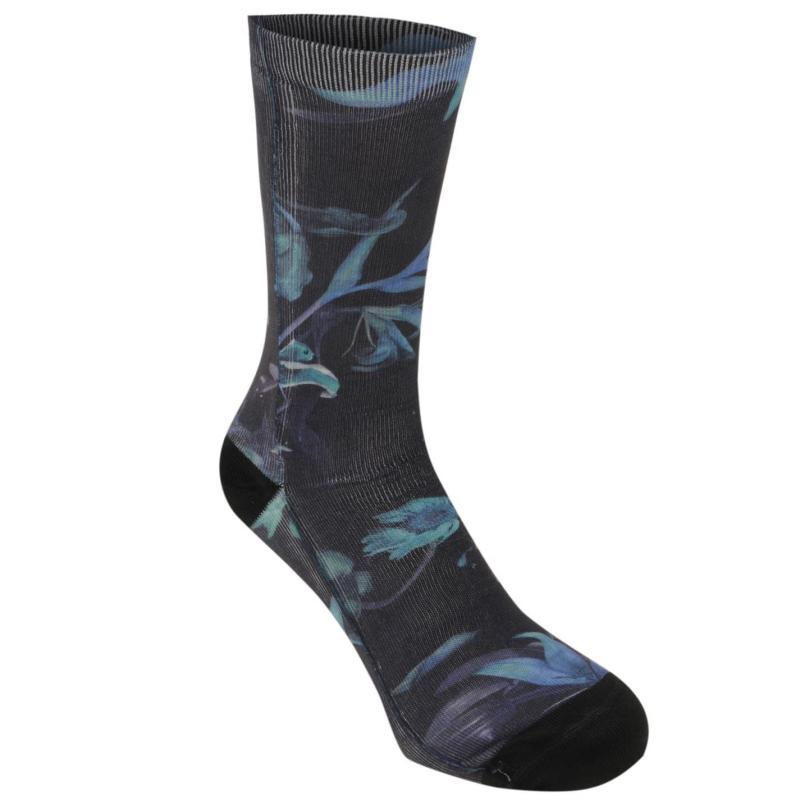 Ponožky Vans Death Bloom Mens Socks Blue