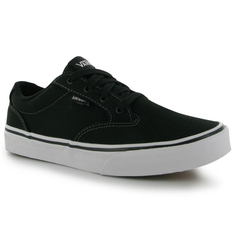 Boty Vans Winston Skate Shoes Boys Black/White