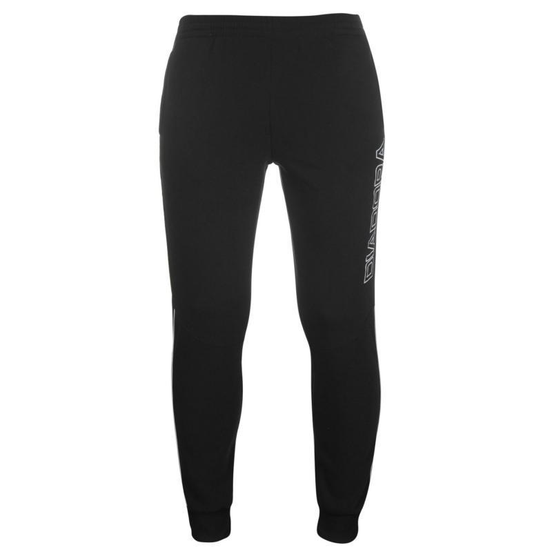 Tepláky Diadora Madrid Sweat Pants Mens Black