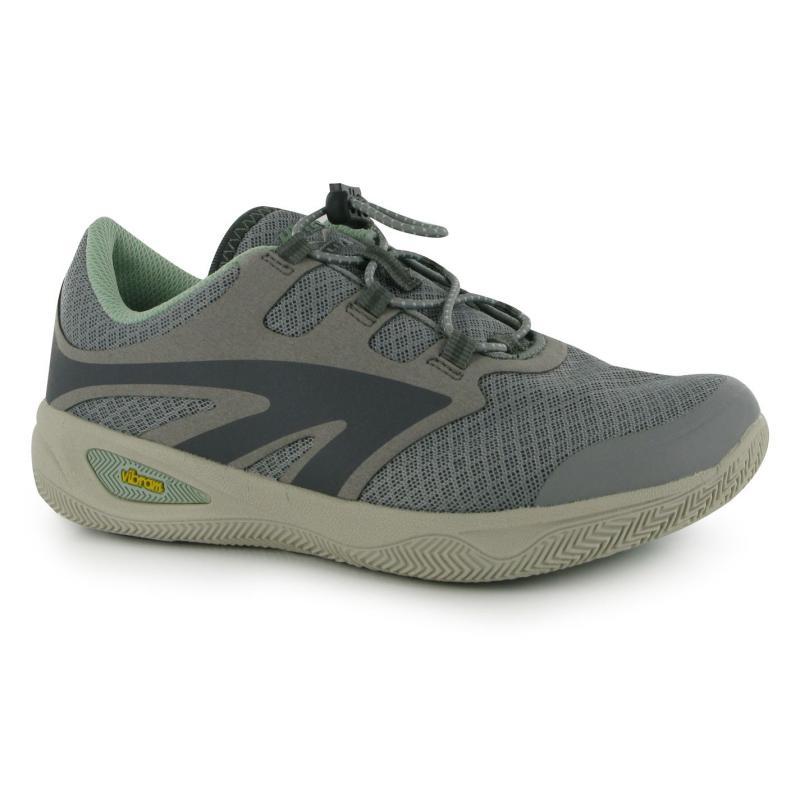 Boty Hi Tec Rio Race Ladies Walking Shoes Grey/Steel