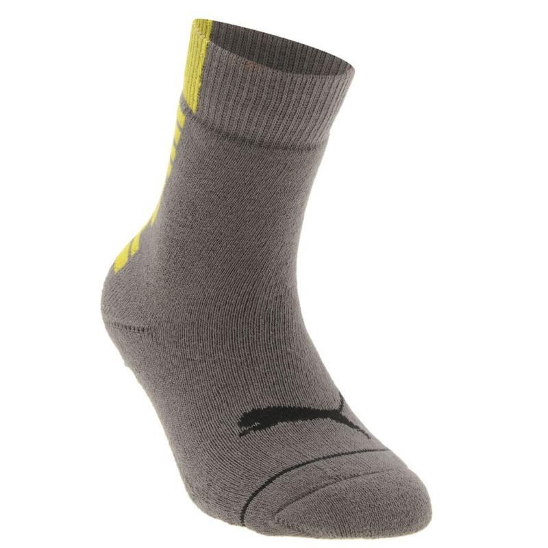 Ponožky Puma Abs 1 Pack Junior Socks Grey