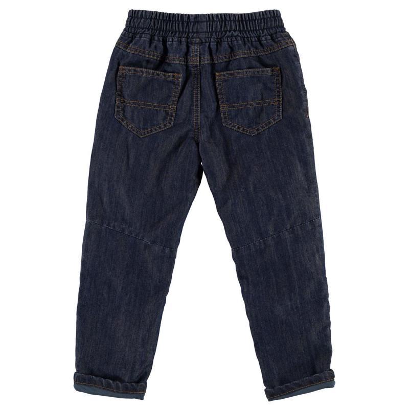 Tepláky Crafted Pull on Denim Jeans Blue Denim