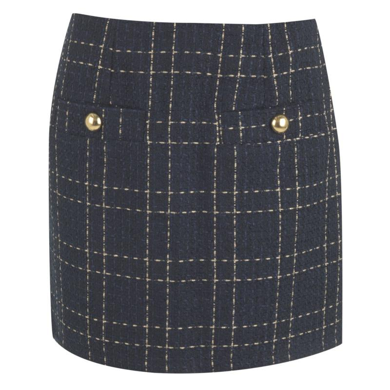 Šortky Rock and Rags Button Skirt Navy