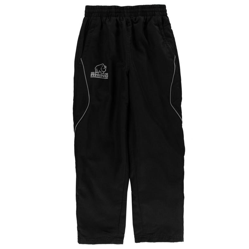 Bunda Rhino Rugby Tracksuit Bottoms Junior Boys Black