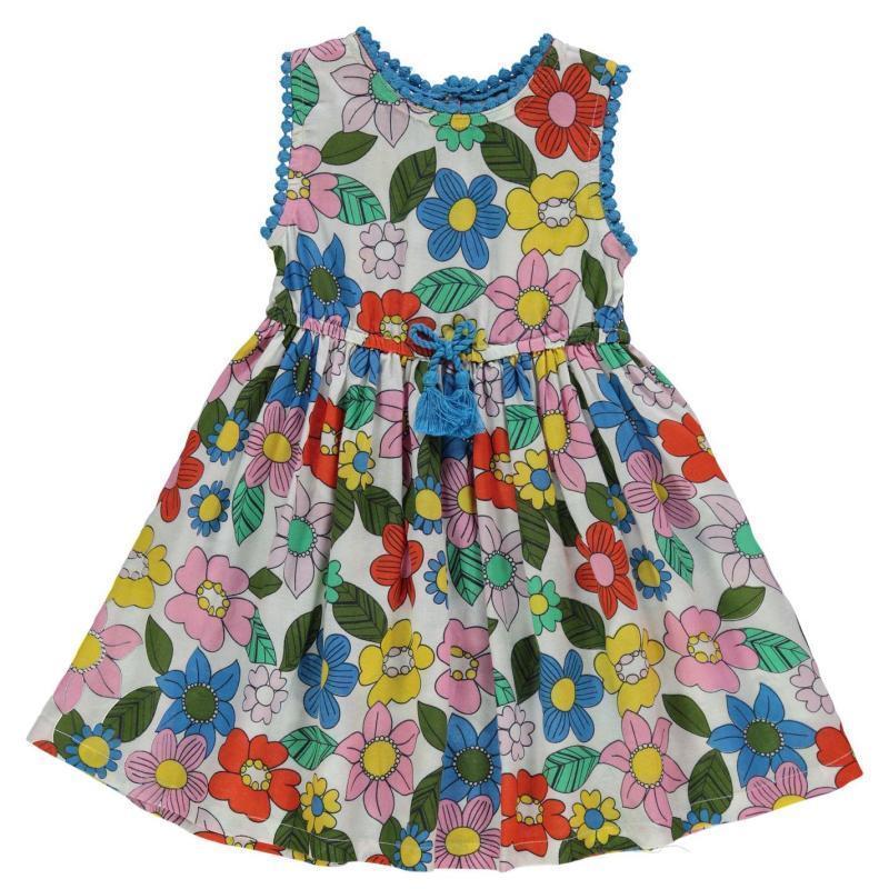 Šaty Crafted Floral Dress Infant Girls AopBrightFloral