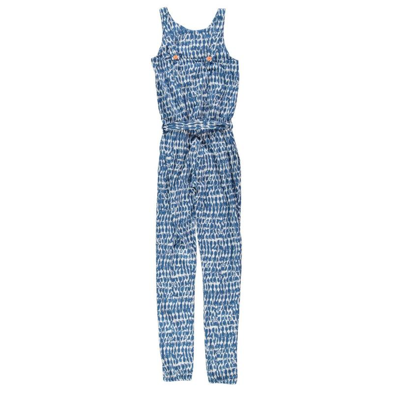 Šaty French Connection AOP Jumpsuit Blixen Blue