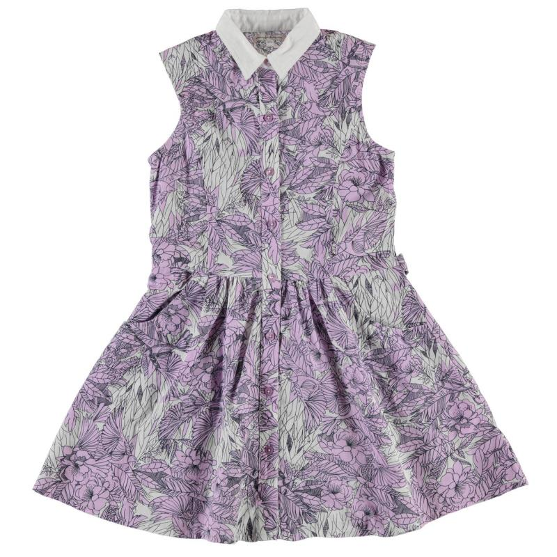 Šaty French Connection Collared Dress Violet Vice