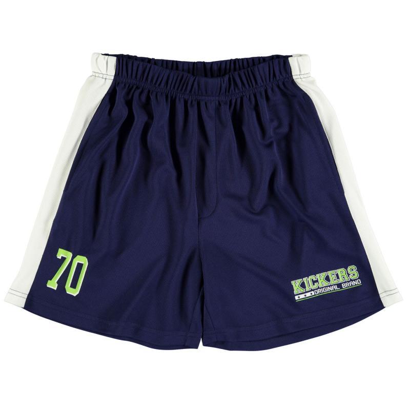 Kraťasy Kickers Mesh Shorts Junior Boys Navy