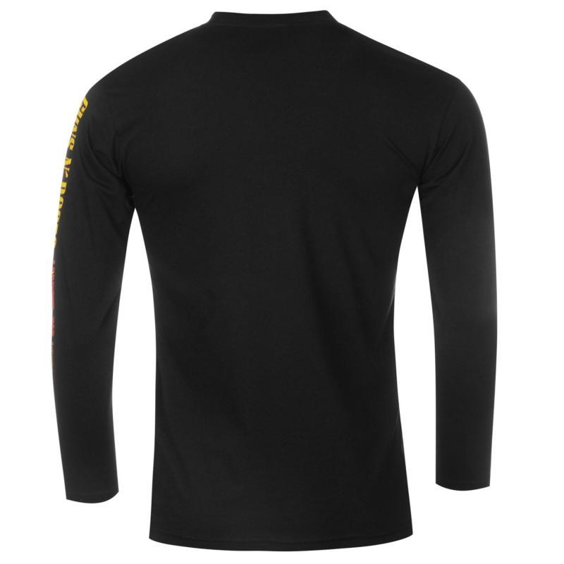 Tričko Official Official Guns N Roses Long Sleeve T Shirt Mens...