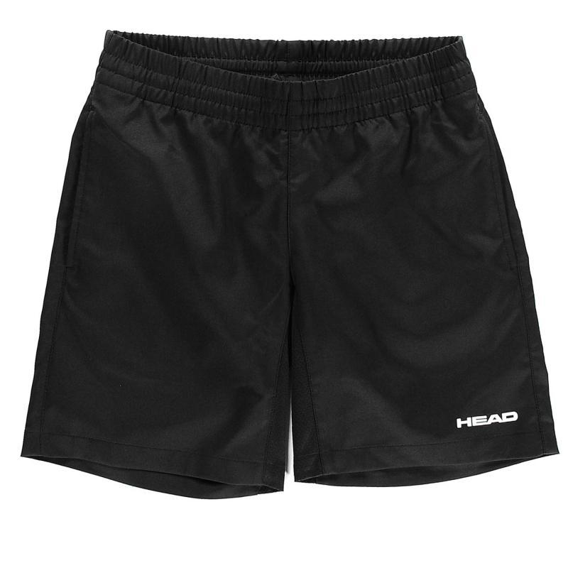 Kraťasy HEAD Club Bermuda Shorts Junior Boys Black