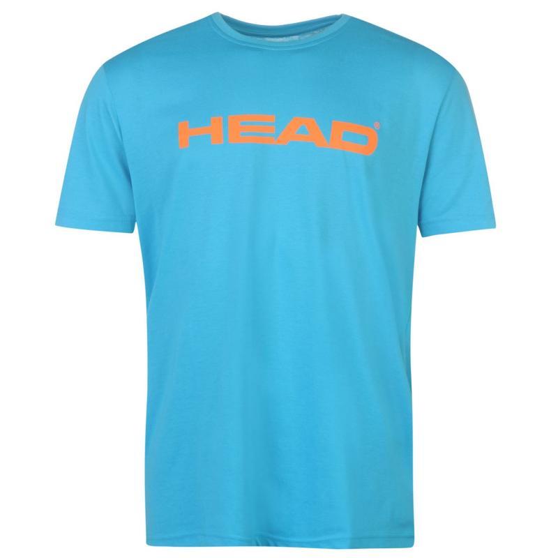 Tričko HEAD Ivan T Shirt Mens Turqiouse