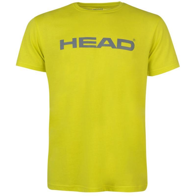 Tričko HEAD Ivan T Shirt Mens Lime