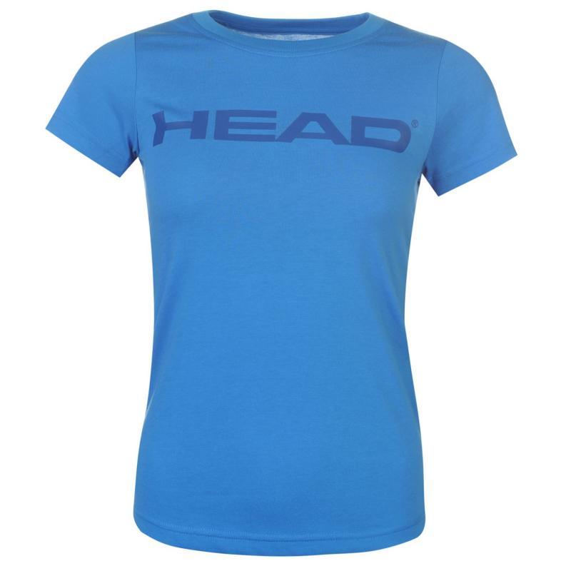 HEAD Lucy T Shirt Ladies Blue/Navy