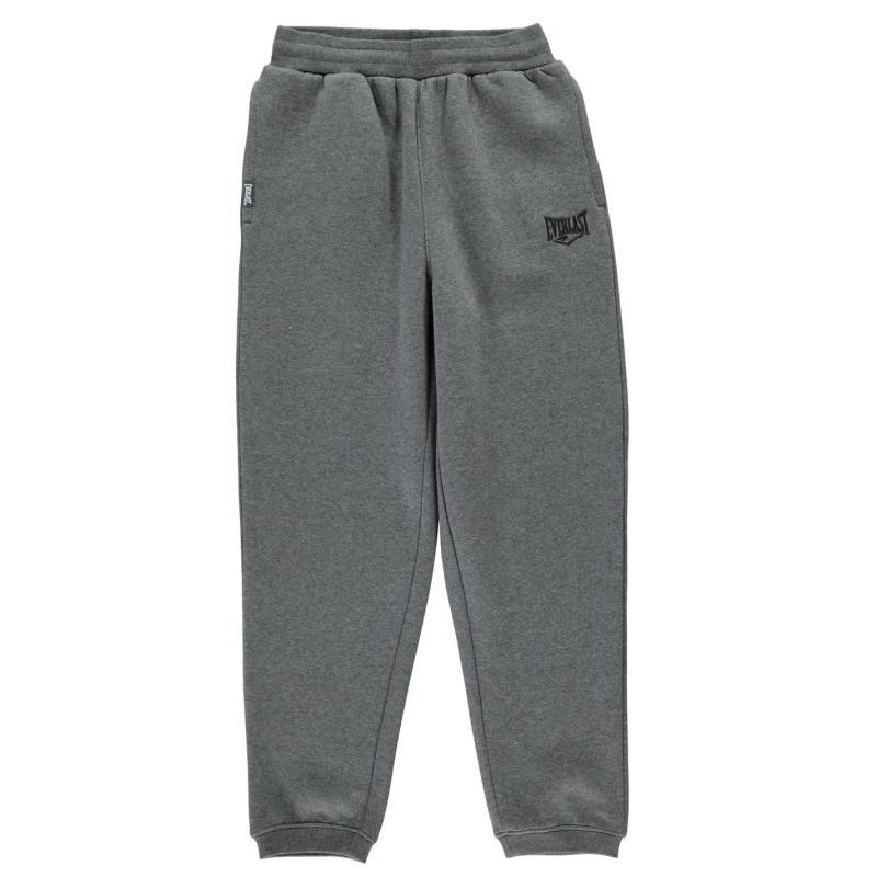 Tepláky Everlast Fleece Jogging Bottoms Junior Boys Charcoal