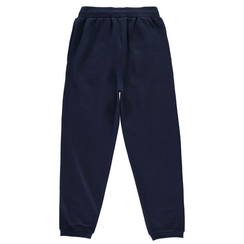 Tepláky Everlast Fleece Jogging Bottoms Junior Boys Grey Marl
