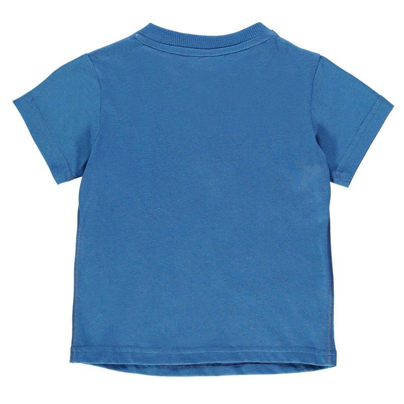 Tričko adidas LogoTee Inf74 Blue/White