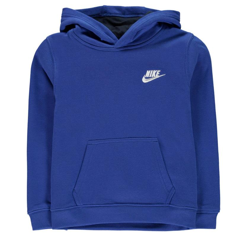 Mikina Nike Brushed Over The Head Hoodie Infant Boys Obsidian