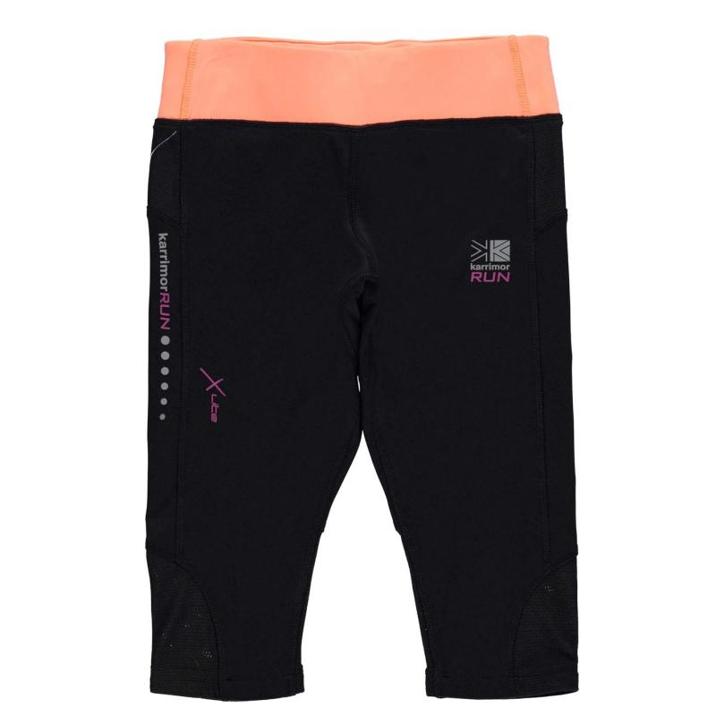 Tepláky Karrimor XLite Capri Pants Junior Girls Dark Heather