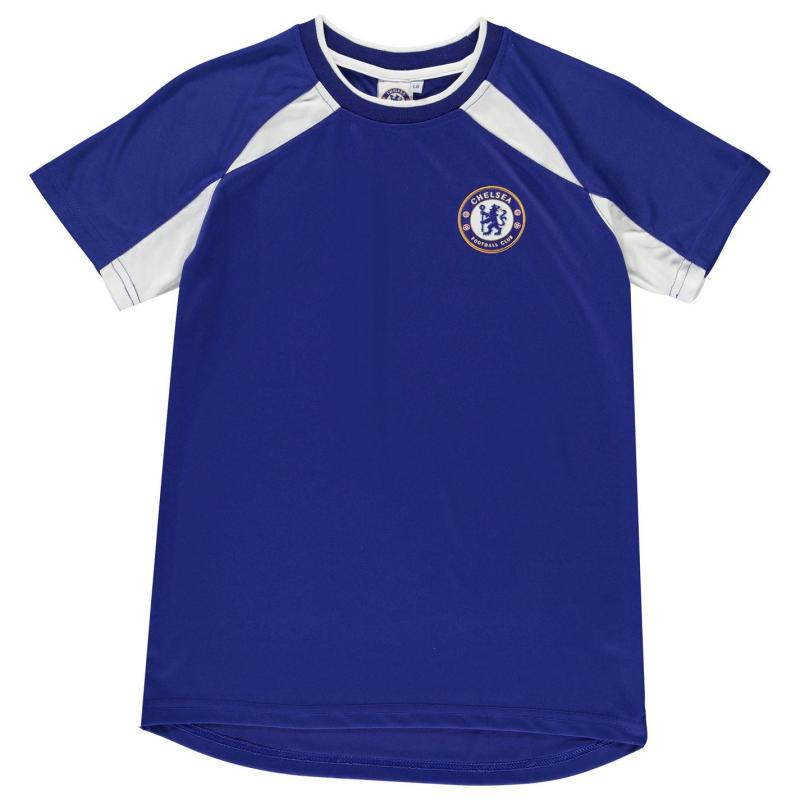 Tričko Source Lab Chelsea Poly Tee Infant Boys Royal
