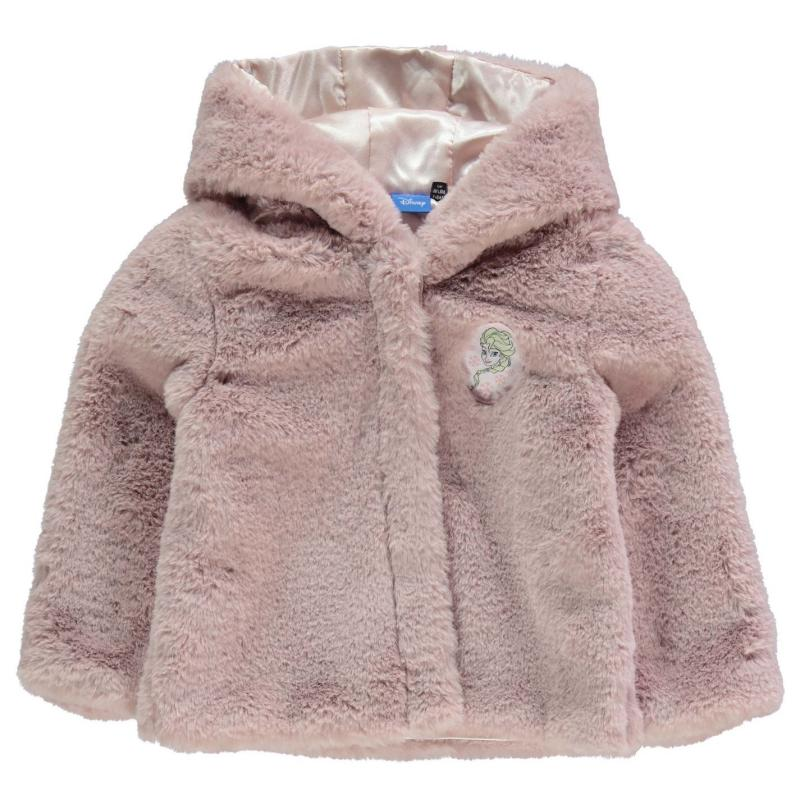 Character Fur Coat Infant Girls Frozen