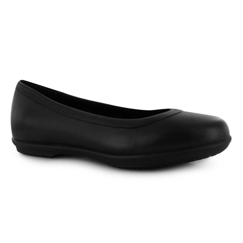 Crocs Grace Flat Shoes Ladies Black/Black