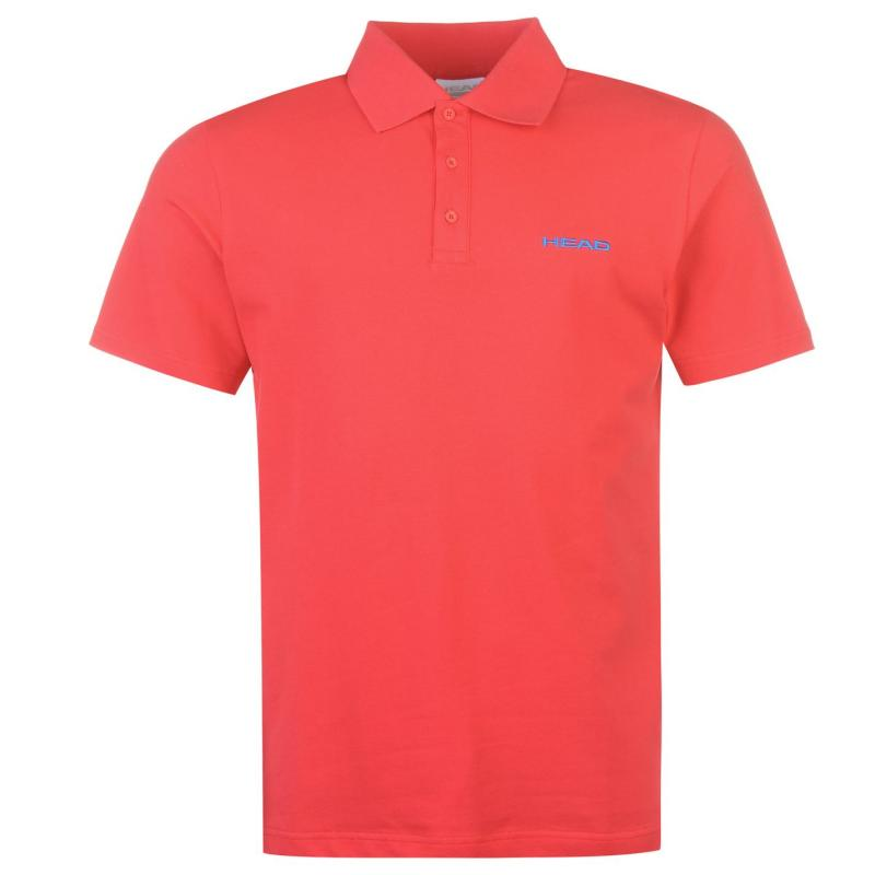 Head Bryon Polo Mens Red