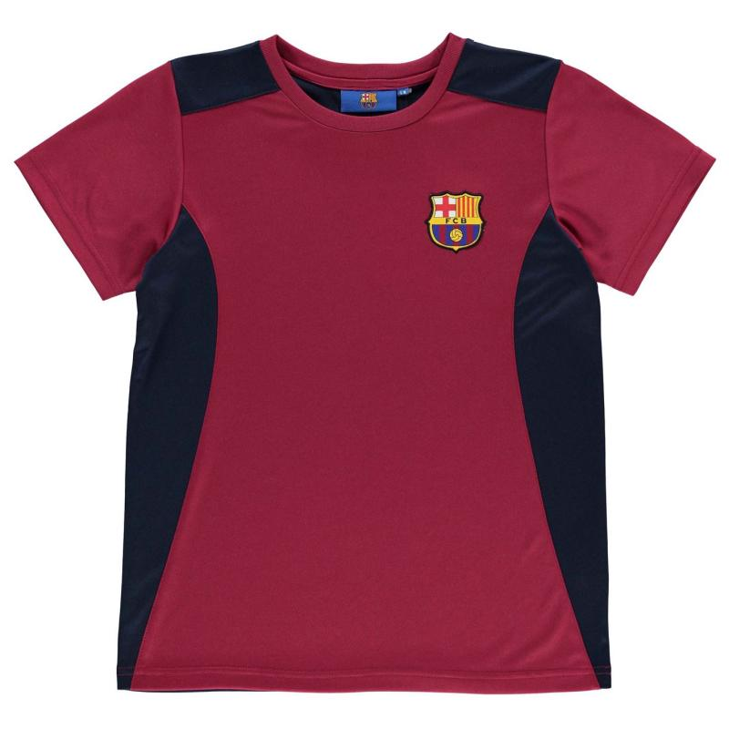 Tričko Source Lab Barcelona T Shirt Infant Boys Deep Red