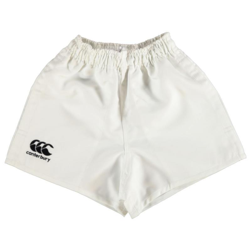 Kraťasy Canterbury Pro Shorts Junior Boys White