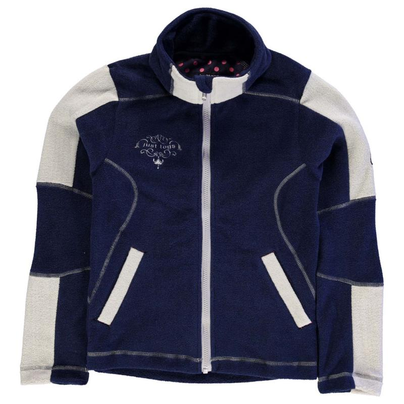 Just Togs Mizz Logan Fleece Child Girls Navy