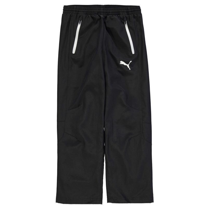 Tepláky Puma Leisure Pants Junior Boys Black